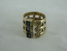 Very Nice Sajen Vermeil Sterling Ring - Size 7