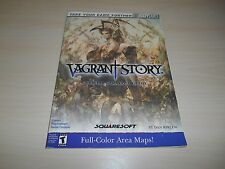 Vagrant Story Strategy Guide Book Playstation PS1 BradyGames Nice