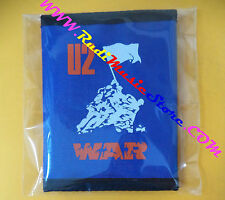 PORTAFOGLIO Wallet U2 War BLU BLUE 10x14 cm BONO VOX no cd dvd lp mc vhs live