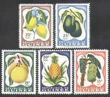 Guinée 1959 bananes/citron/ananas/fruits/plantes/nature/food/agriculture 5v (n38017)
