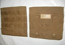 NEW USMC COYOTE SIDE PLATE CARRIER POCKET SET 2-PCG-C-MC-SPP-MS-5SCOY EAGLE IND