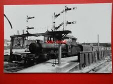 PHOTO  LMS JUBILEE 4-6-0 45571 SOUTH AFRICA WITH EXPRESS AT LICHFIELD RAILWAY ST