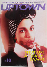 PRINCE Magazine - UPTOWN # 10 Prince Speaks ! Interviewography! Totally MINT