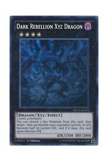 YuGiOh Card - Dark Rebellion Xyz Dragon NECH-EN053 1st Ed. Ghost Rare