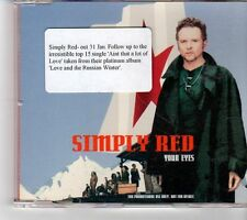 (FP235) Simply Red, Your Eyes - 1999 DJ CD