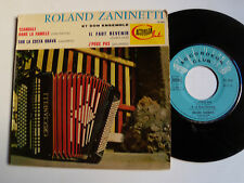 "ROLAND ZANINETTI: Scandale dans la famille (cha cha) 7"" EP ACCORDEON CLUB 70584"