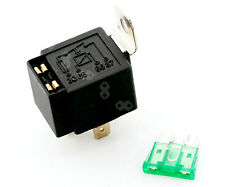 2 X 30A 12V CAR CAN BOAT 4 PIN FUSE RELAY ON/OFF FUSED SWITCH FOR SPOTLAMPS FOG