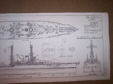 BB40 uss new mexico ship plan
