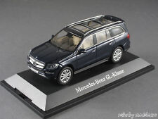 1/43 Norev Mercedes Benz GL-Klasse (X166) 2012 - Cavansitblau metallic - 141060