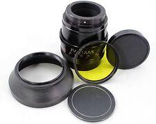 Zeiss Jena MC Biometar 2.8 / 120, vintage tele lens, for Pentacon or Kiev-60