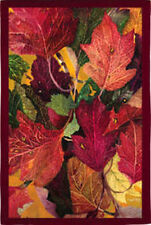 "Colorful Fall Leaves House Flag Autumn Decorative Banner 29"" x 43"""
