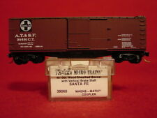 KD 39060  AT&SF 40' Wood Box Car  #38691C.T.  MINT N-SCALE