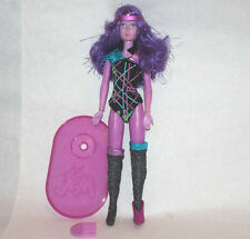 """JEM doll Synergy 1985 and the holograms 1980s vintage hasbro w comb purple 12"""""""
