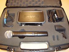 Shure PGX Handheld Wireless Microphone System with SM58 Mic and PGx4 Receiver