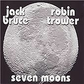 JACK BRUCE (CREAM)/ROBIN TROWER (PROCOL HARUM) - SEVEN MOONS  2008 EVANGELINE CD