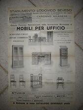 U651-CARONNO MILANESE-STAB. L.SEVESO MOBILI