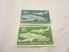 IRELAND 1961 MINT N H SET OF 2 S G 184-5 AIR LINGUS                656