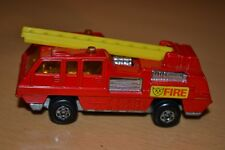 Matchbox Superfast No 22 Blaze Buster Fire Engine - Rare Unpained Base - VNM