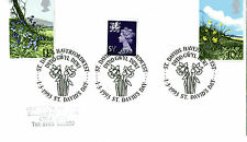 1 MARCH 1993 St DAVIDS DAY COVER St DAVIDS HAVERFORDWEST SHS