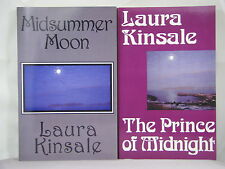 2 by Laura Kinsale-Midsummer Moon,The Prince of Midnight,tpb historical romances