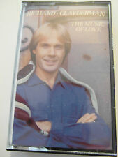 Richard Clayderman - The Music Of Love - Album Cassette Tape, Used Very good