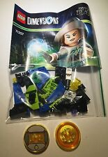 LEGO DIMENSIONS SWOOPING EVIL&DRIVER DISKS SPLIT FROM FUN PACK:71257