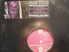 """MAD LION - BRING IT IF YOU WANT IT (12"""")  2000!! RARE ♫"""