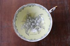 Vintage Rare Paragon Fine Bone China Teacup For The Bride Green, Wedding Gift