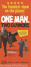 Event Promo Flyer: One Man, Two Guvnors (New Theatre, Cardiff, 2015)