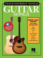 Teach Yourself to Play Guitar Songs: More Than Words & 9 More Acoustic 000152225