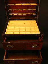 Vintage Perfect Sewing Cabinet Chest by The Caswell-Runyun Co., Huntington, IND.