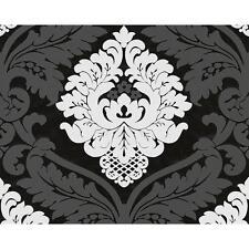 COMME Création Flockées Motif Damas Papier peint En relief Floral Rouleau 554314