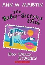 The Baby-Sitters Club #8: Boy-Crazy Stacey-ExLibrary