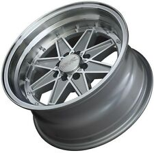 15X8 XXR538 WHEELS 4X100/114.3 +0MM MACHINED / SILVER RIM FITS ACCORD CIVIC XB