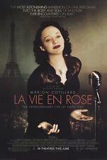 LA VIE EN ROSE (Edith Piaf) Movie POSTER 27x40 Marion Cotillard Sylvie Testud
