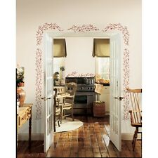 New BERRY VINES WALL DECALS Country Berries Kitchen & Home Stickers - Easy Decor