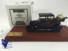 1/43 TOP MARQUES ROLLS ROYCE 20HP BARKER LANDAULETTE 1926 HOOD FOLDED