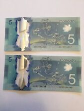 """CANADA $5 Dollars""Polymer (ND. 2013) 1 GEM UNC Banknote""Space Exploration"""
