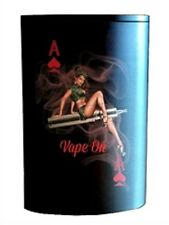 Box Mod and Vaporizer Wrap from JWraps Wismec Reuleaux RX200S Pin Up Girl 3
