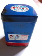VINTAGE OPTIMUS 80 CAMP STOVE MADE IN SWEDEN includes CLEANING NEEDLES & Manual
