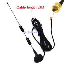 3.5db 4G SMA Antenna LTE Male Plug 9.84ft Cable WLAN Signal Booster 3M Magnetic