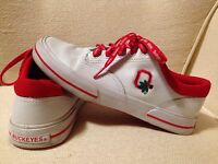 Ohio State Buckeyes Logo Tennis Shoes Sneakers Women's Size 9 Cuteeeee!