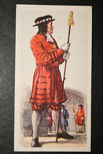 Yeomen of the Guard  British Army 1685   1930's Vintage Uniform Card  VGC