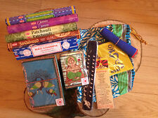Hippy,boho tibetan gift set - Incense - notebooks - tibetan prayer flags & more