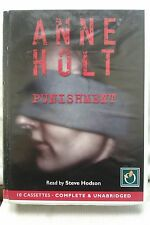 Punishment by Anne Holt: Unabridged Cassette Audiobook (JJ2)
