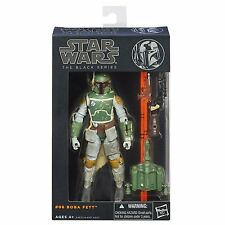 "Hasbro Star Wars The Black Series 6"" W2/13 #06 Boba Fett Action Figure"