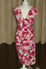 Brand New Phase Eight / 8 Constance floral pink dress Size 12