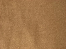 Tobacco Brown Solid Color Anti-Pill Fleece Fabric  by the Yard   BTY
