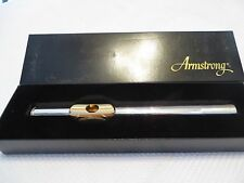 Armstrong PSGFTA Sterling Silver Gold Plated Lip P Cut Flute Head Joint New!