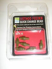 Preston Innovations Method Feeder Quick Change Beads 6pk Fishing tackle